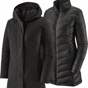 Patagonia 3 in 1 Black Jacket
